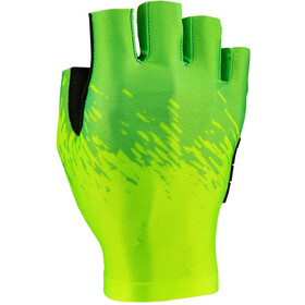 Supacaz SupaG Short Finger Gloves neon yellow/neon green